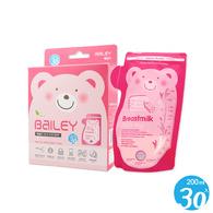 BAILEY感溫母乳儲存袋(壺嘴型) 30入