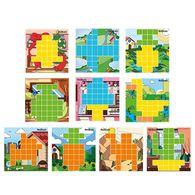 AniBlock安尼博樂 AR積木拼圖 4色圖卡擴充包