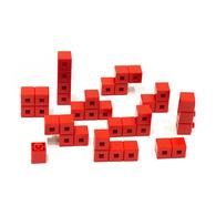 AniBlock安尼博樂 AR積木拼圖 單色積木 (紅色)