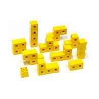 AniBlock安尼博樂 AR積木拼圖 單色積木 (黃色)