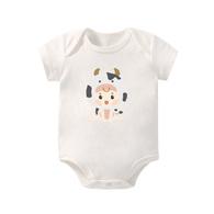 寶寶棉柔包屁衣 牛寶寶 短袖