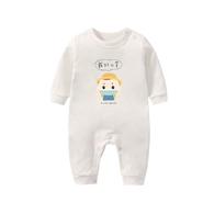 寶寶棉柔連身衣 戴好口罩