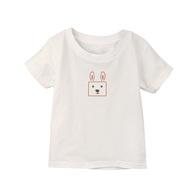 小童棉柔短T 方方兔