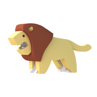 HALFTOYS 3D動物系列 獅子LION