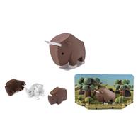 HALFTOYS 3D動物系列 角馬GNU
