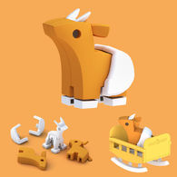 HALFTOYS 3D動物寶寶 高角羚寶寶IMPALA BABY
