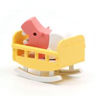 HALFTOYS 3D動物寶寶 河馬寶寶HIPPO BABY