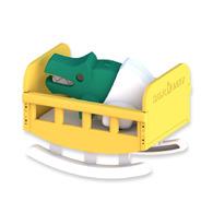 HALFTOYS 3D動物寶寶 鱷魚寶寶CROCODILE BABY