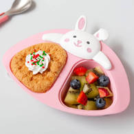 VIIDA Joy 多功能分隔盤 - 粉兔
