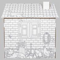 TEKTORADO波蘭創意紙箱玩具- 彩繪農場