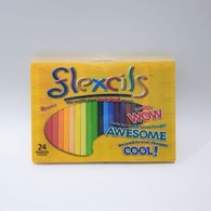 【出清】澳洲Flexcils 可彎曲蠟筆 24色 三角形