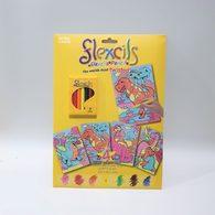 【出清】澳洲Flexcils 可彎曲蠟筆 繪圖套組 (7色蠟筆+4款圖紙) 恐龍款