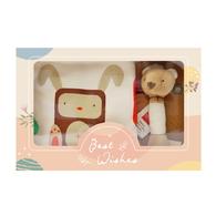 【促銷】有機棉被寢玩具禮盒