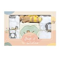 【超值】寶貝彌月包巾禮盒