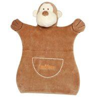 miYim有機棉手偶安撫巾 布布小猴