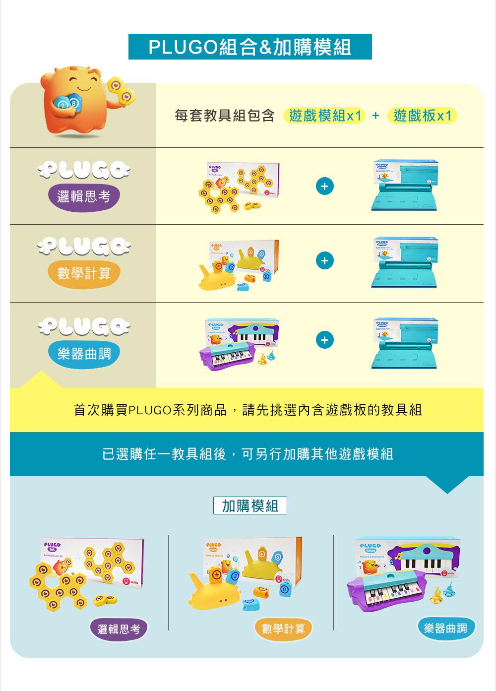 【shifu】PLUGO組合商品、加購模組介紹