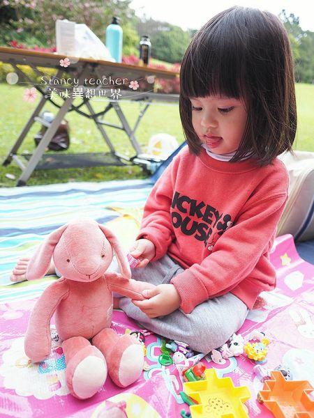 miYim有機棉安撫娃娃,邦妮兔兔玩偶禮盒,周歲生日禮物推薦玩偶禮盒