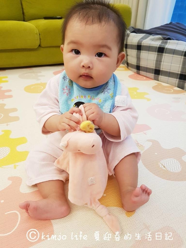 新生兒彌月禮物|miYim有機棉安撫巾推薦