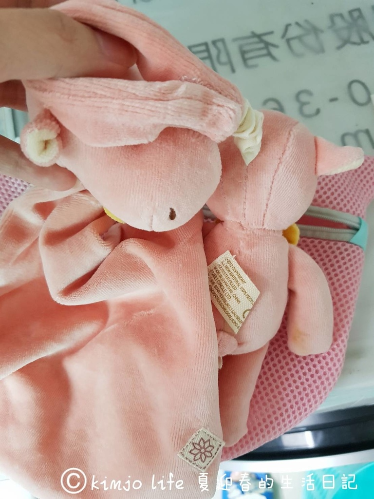 新生兒安撫玩具推薦|miYim有機棉安撫巾,miYim有機棉吊掛娃娃