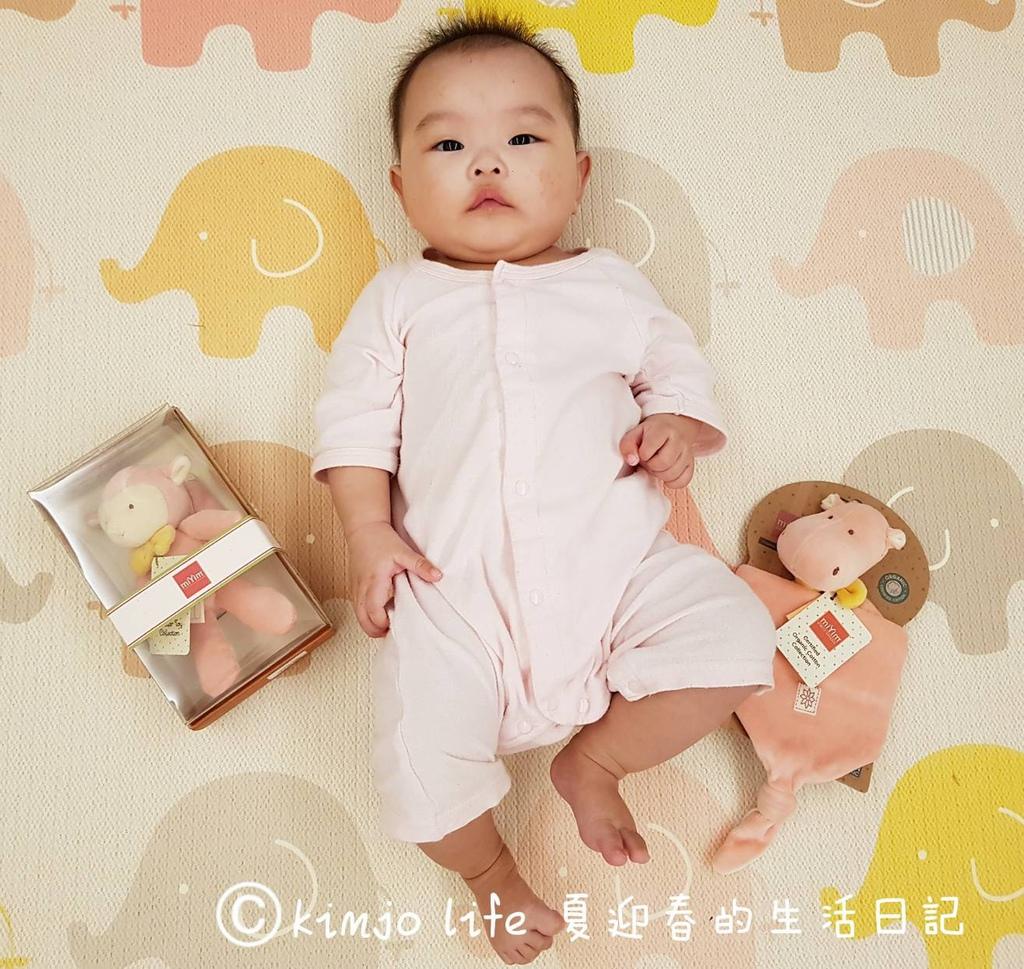 寶寶玩具推薦|miYim有機棉安撫巾,miYim有機棉吊掛娃娃