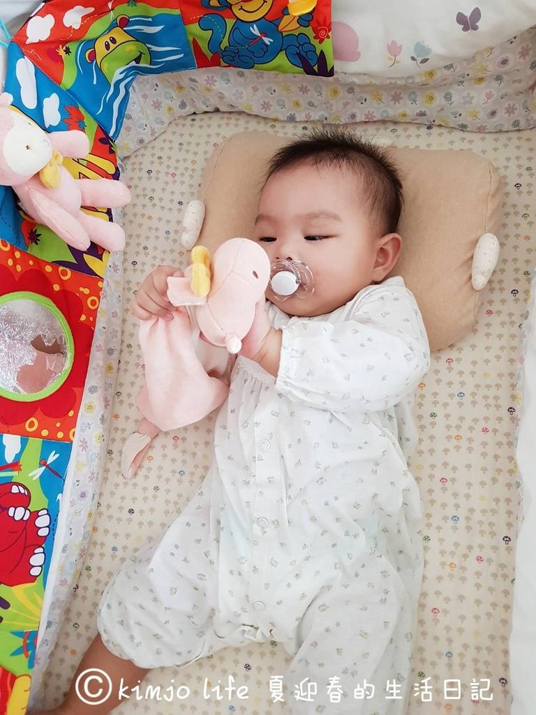 新生兒禮物推薦|miYim有機棉安撫巾,miYim有機棉吊掛娃娃