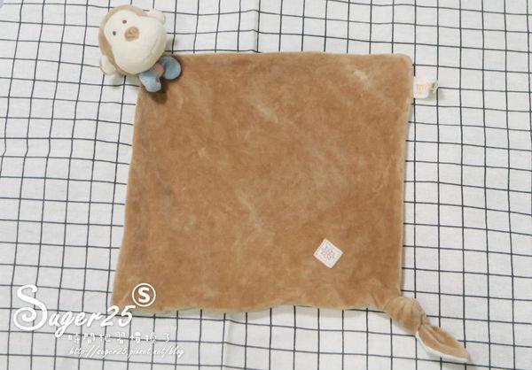 安撫巾推薦,miYim有機棉安撫巾 布布小猴