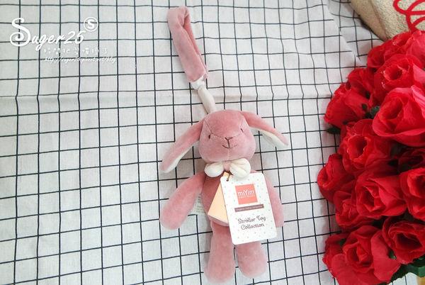 彌月禮物推薦,miYim有機棉吊掛娃娃
