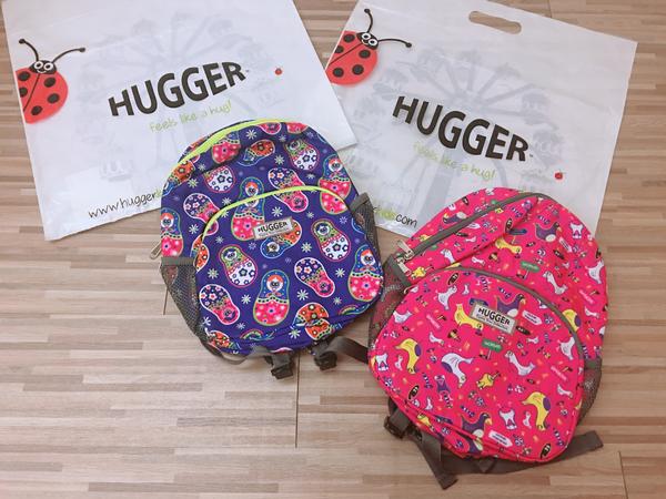 Hugger幼童背包,幼幼班上學書包分享、兒童背包推薦