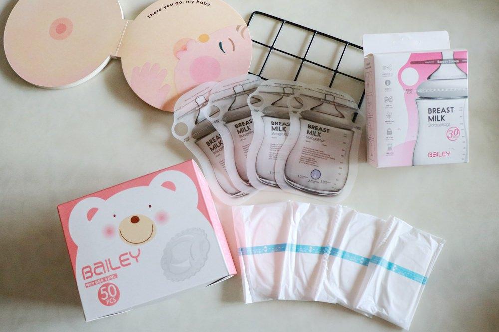 BAILEY指孔型母乳儲存袋推薦美美der
