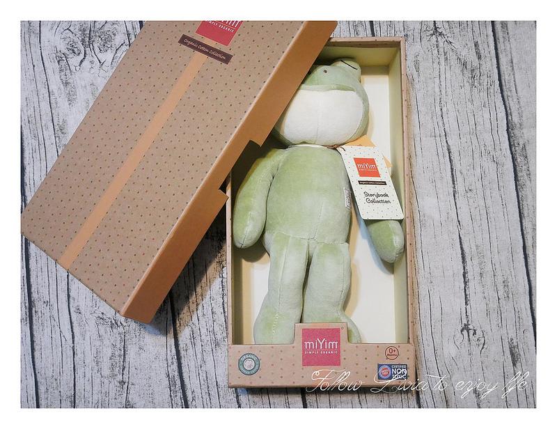 miYim有機棉安撫玩具 好夢蛙,安撫玩具禮盒適合送禮