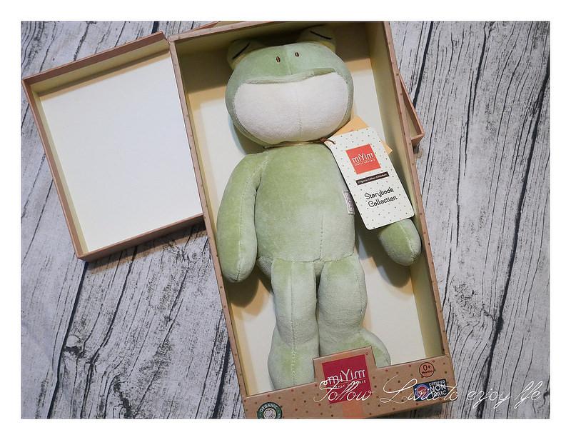 彌月禮物推薦,miYim有機棉娃娃禮盒