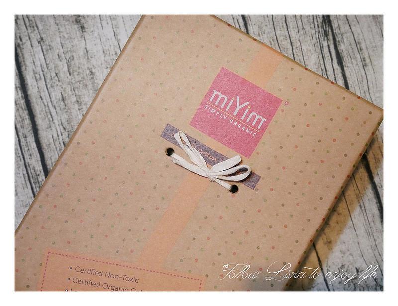 miYim有機棉安撫玩具禮盒,精緻環保包裝