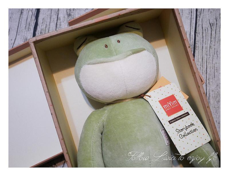 彌月禮物推薦,miYim有機棉玩偶禮盒