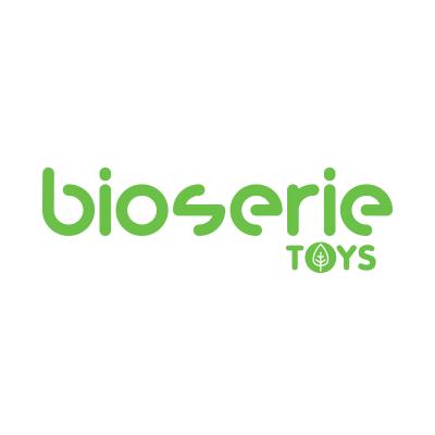 bioserie綠色嬰兒啟發玩具